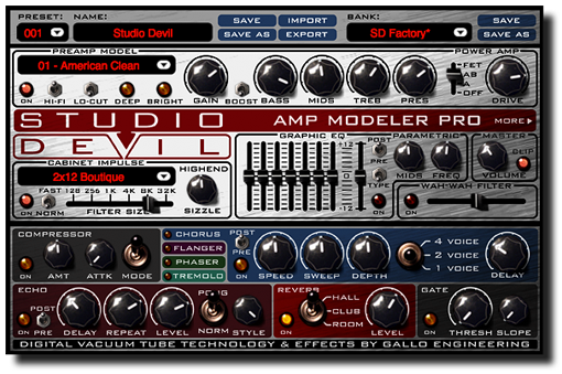 Studio Devil - Amp Modeler Pro