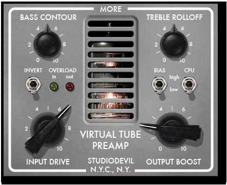 Studio Devil - Virtual Tube Preamp